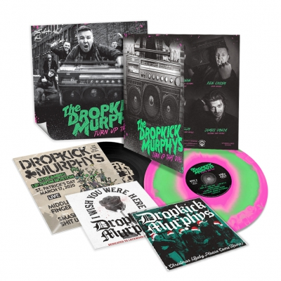 Turn Up That Dial Deluxe LP (Pink/Green)