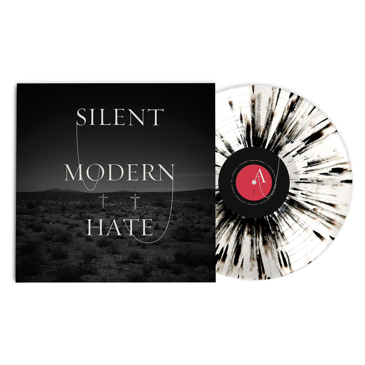 Modern Hate LP (Clear/Black Splatter)