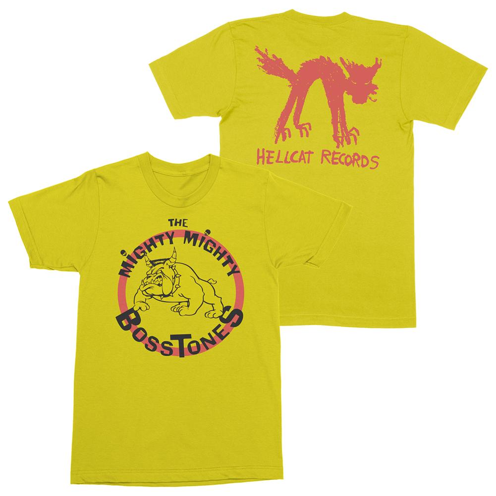 IMAGE | Bulldog Logo Tee (Yellow)