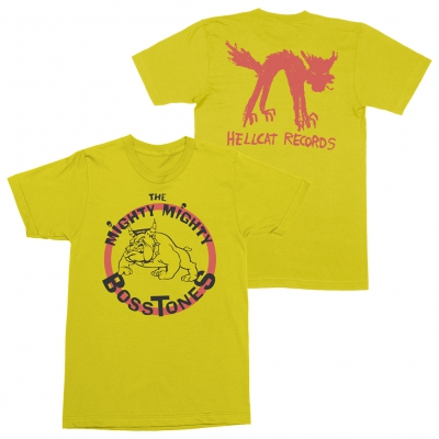 Bulldog Logo Tee (Yellow)