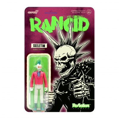 Skeletim Charged ReAction Figure (Glow)