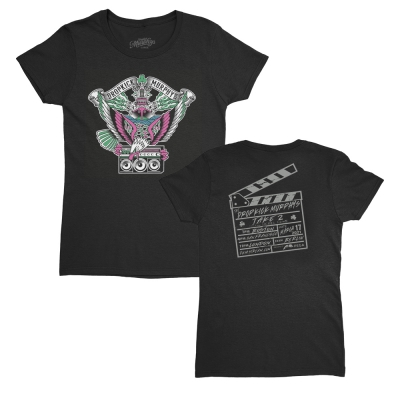 Live Stream Eagle Boombox Women's Tee (Black)