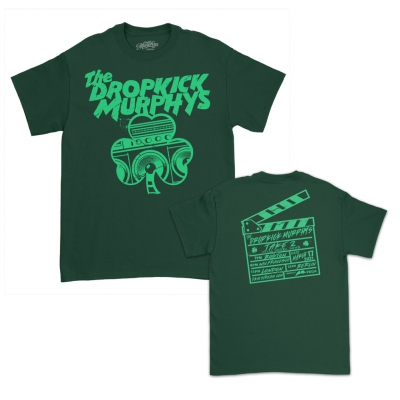 Live Stream Speaker Shamrock Tee (Hunter Green)
