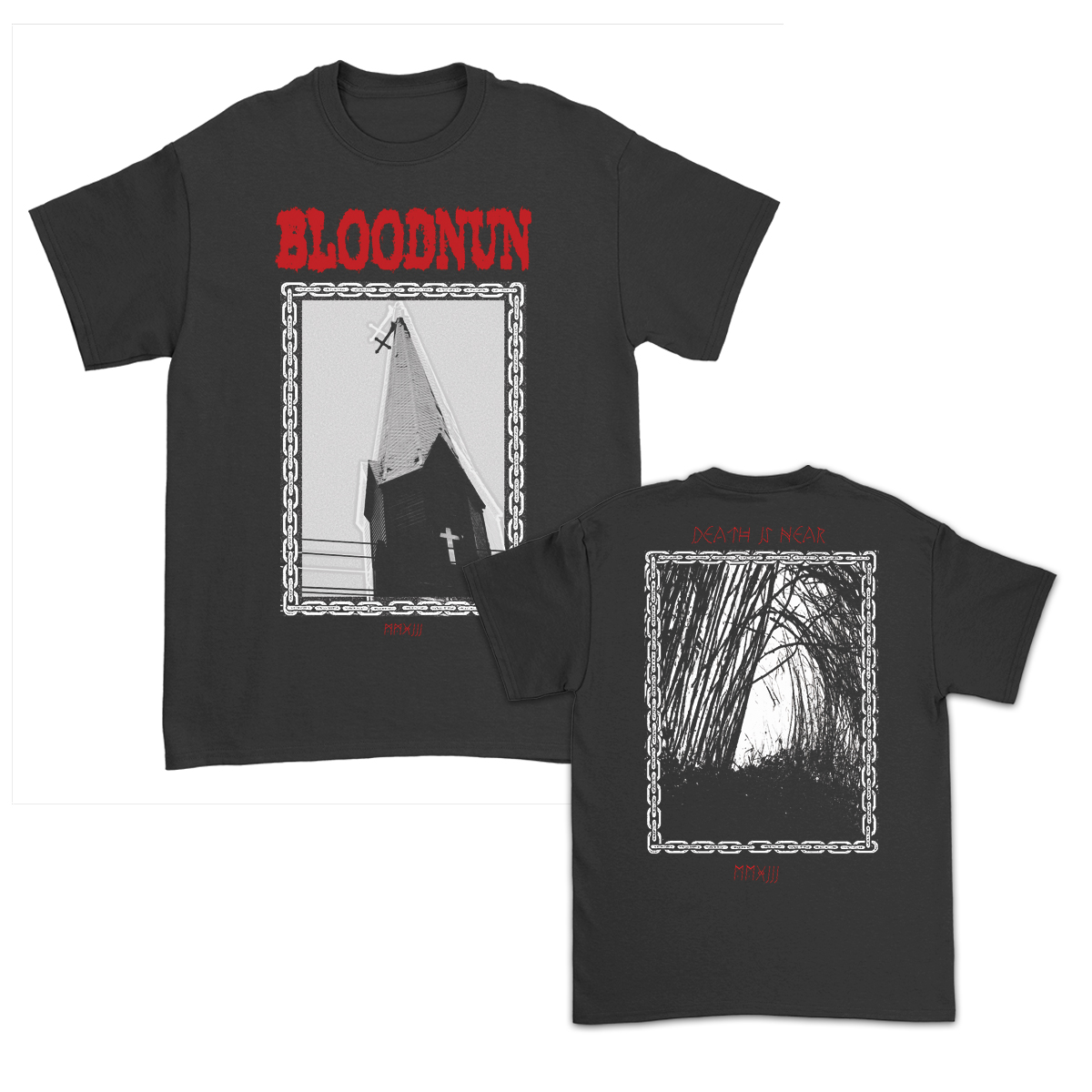 IMAGE   Bloodnun Church T-Shirt (Black)