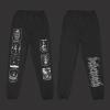 IMAGE | Seven Seals Sweatpants (Black) - detail 1