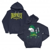 IMAGE | Live Stream Fist Up Pullover Hoodie (Navy) - detail 1