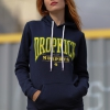 IMAGE | Live Stream Fist Up Pullover Hoodie (Navy) - detail 5