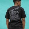 IMAGE | Live Stream Eagle Boombox Tshirt (Black) - detail 3