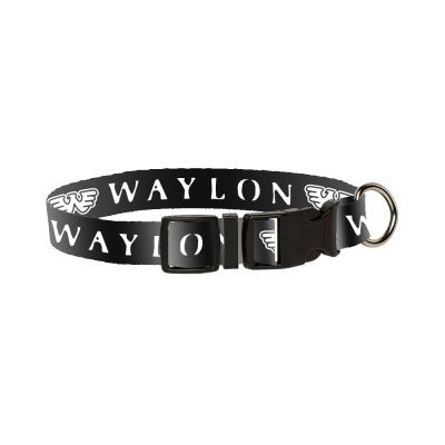 WJ Flying W Dog Collar