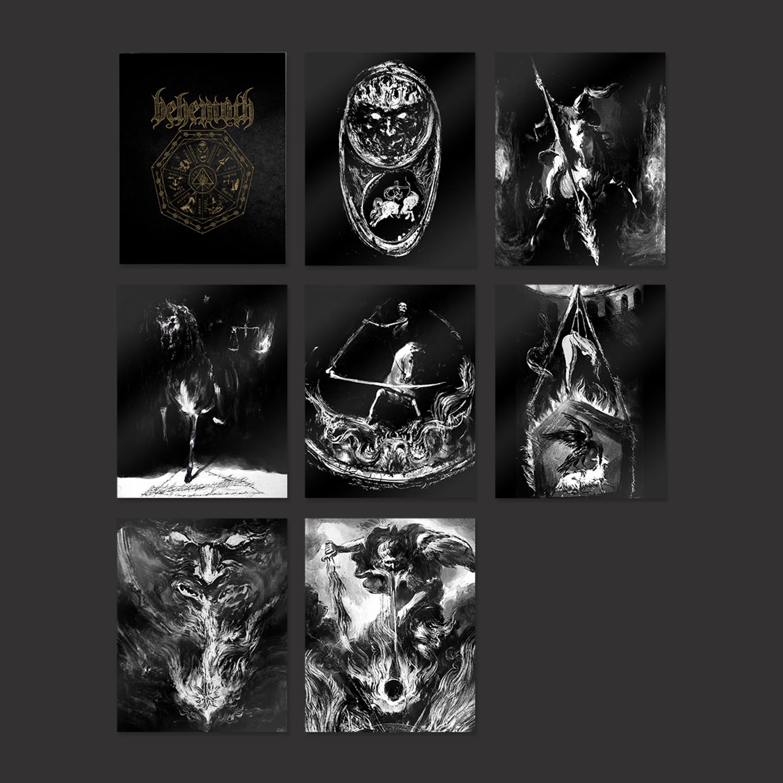 IMAGE   Seven Seals Print Set