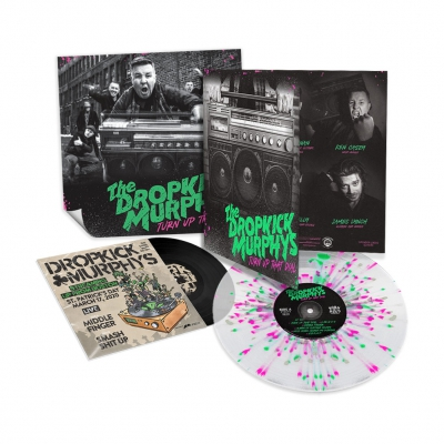 Turn Up That Dial Deluxe LP (Clear/Pink/Green Spla