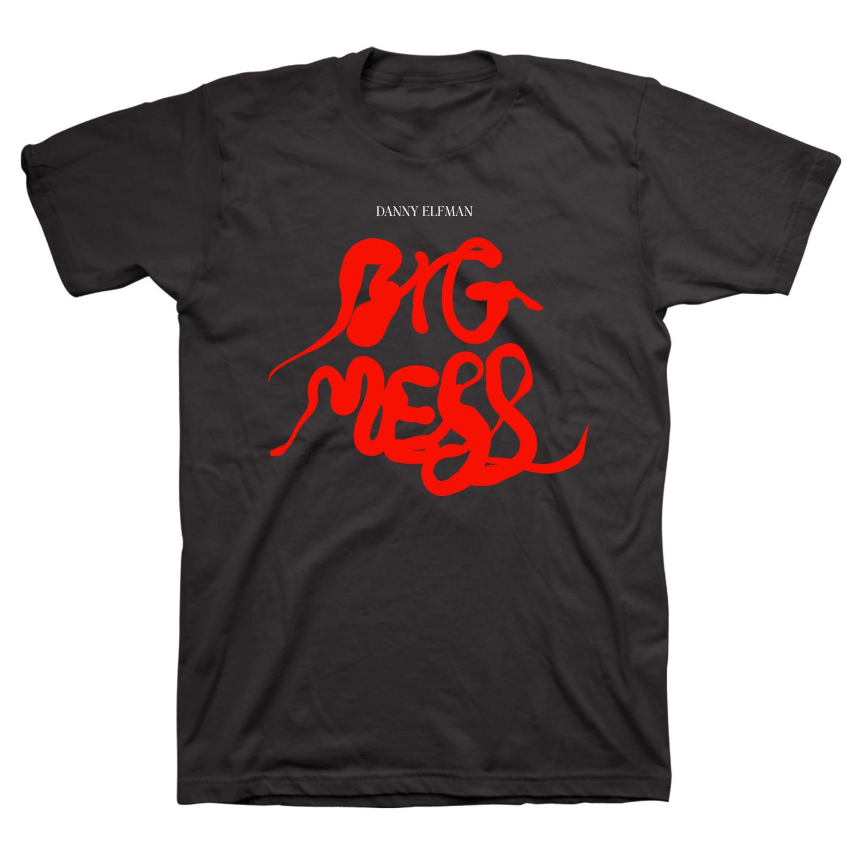 IMAGE | Big Mess Logo T-Shirt (Black)