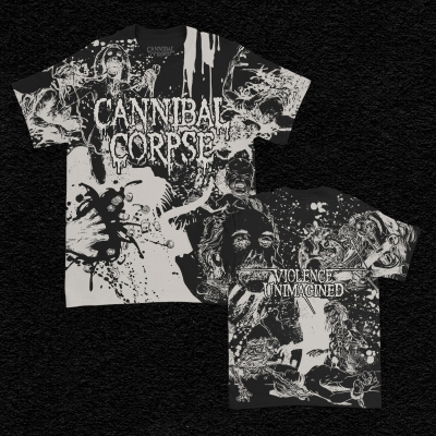 Sketch Collage All Over Print T-Shirt