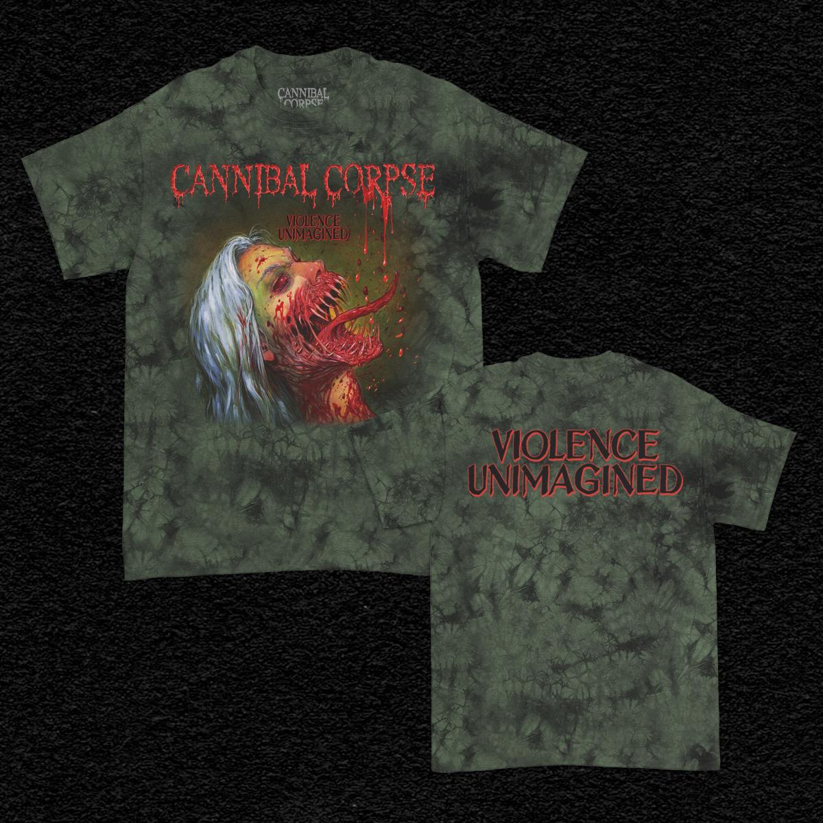 IMAGE   Violence Unimagined T-Shirt (Moss Dye)