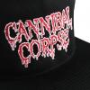 IMAGE | Embroidered Logo Snap Back Hat (Black) - detail 2