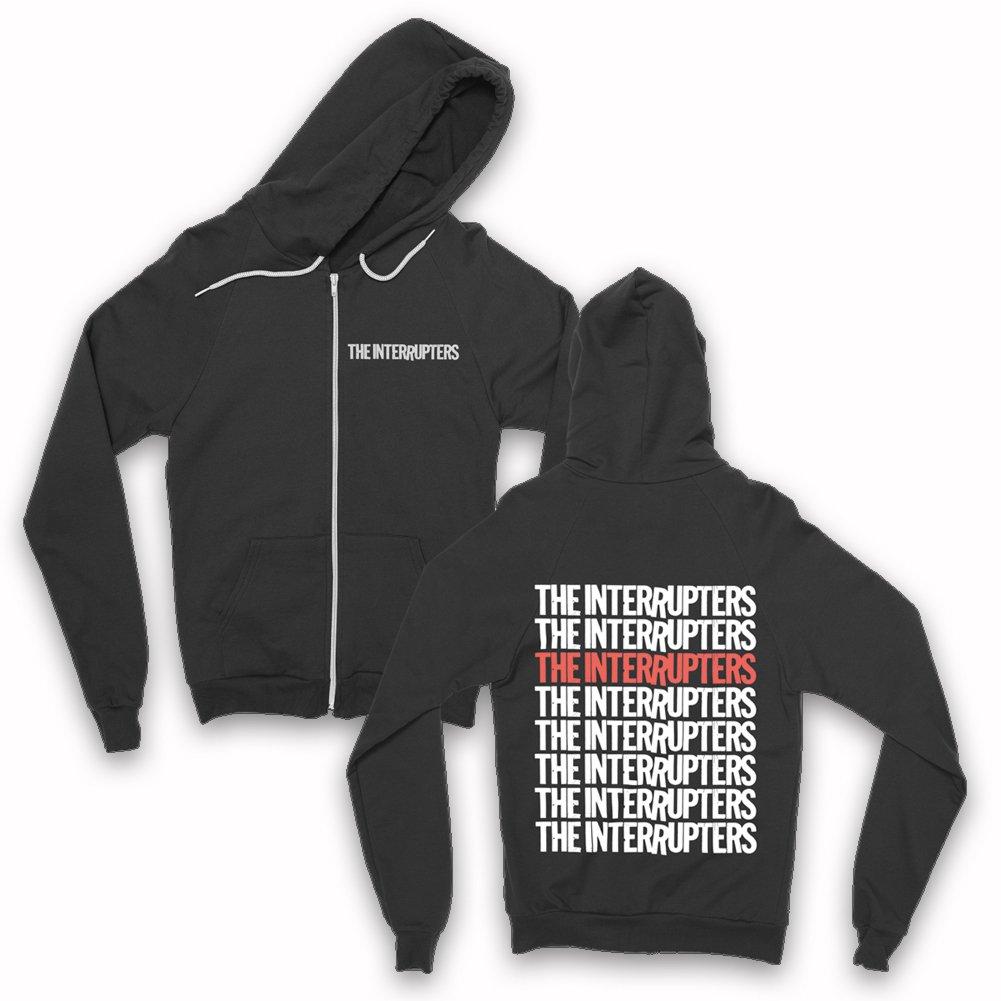 IMAGE   Repeater Zip Up Hoodie (Black)