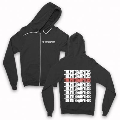 IMAGE | Repeater Zip Up Hoodie (Black)