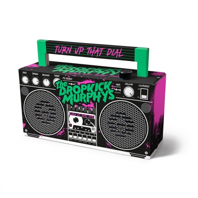 Turn Up That Dial Bluetooth Boombox