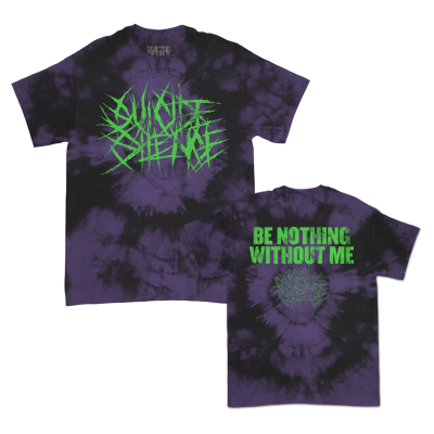 IMAGE | Be Nothing Without Me T-Shirt (Purple Dye)