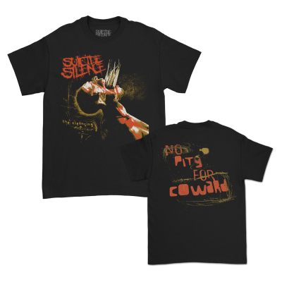 No Pity For A Coward T-Shirt (Black)