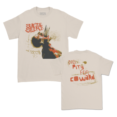 No Pity For A Coward T-Shirt (Sand)