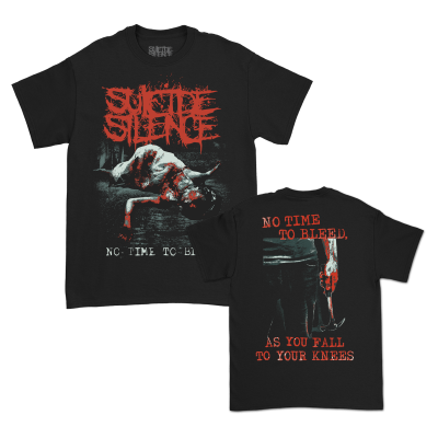 No Time To Bleed T-Shirt (Black)