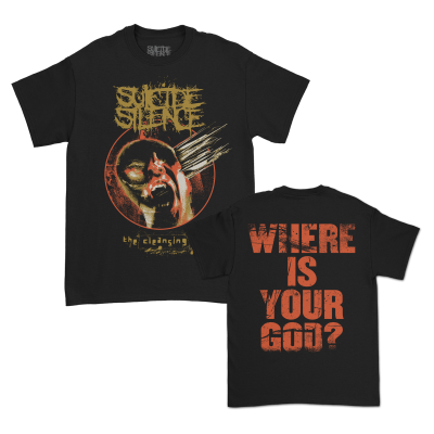 IMAGE | Where Is Your God? T-Shirt (Black)