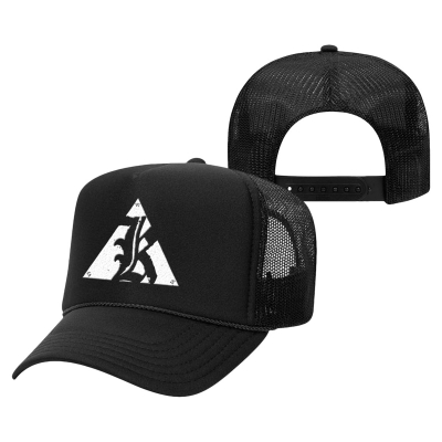 IMAGE | K Logo Trucker Hat (Black)