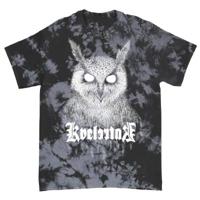 IMAGE | Barlett Owl Tee (Black/ Grey Dye)