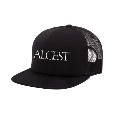 IMAGE   Logo Trucker Hat (Black)