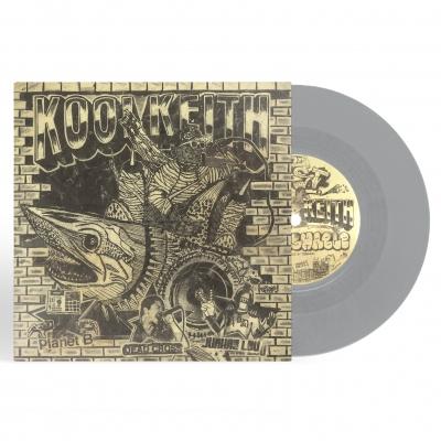 """Blast"" b/w ""Uncrushable"" EP (Grey)"