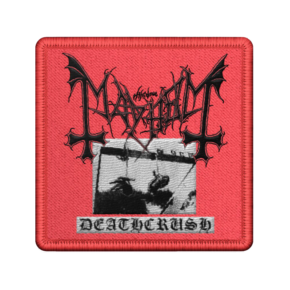 IMAGE | Deathcrush Embroidered Patch