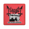 IMAGE | Deathcrush Embroidered Patch - detail 1