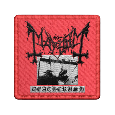 Deathcrush Embroidered Patch