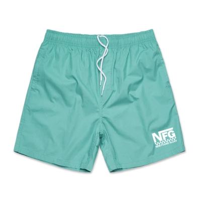 IMAGE | Checker Logo Shorts (Teal)