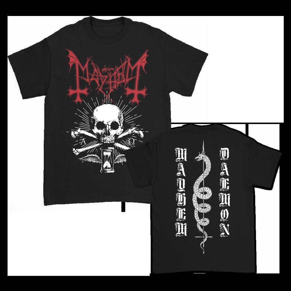 IMAGE | Skull Snake T-Shirt (Black)