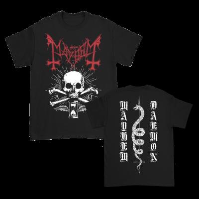 Skull Snake T-Shirt (Black)