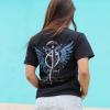 IMAGE | Demigod Album T-Shirt (Black) - detail 2