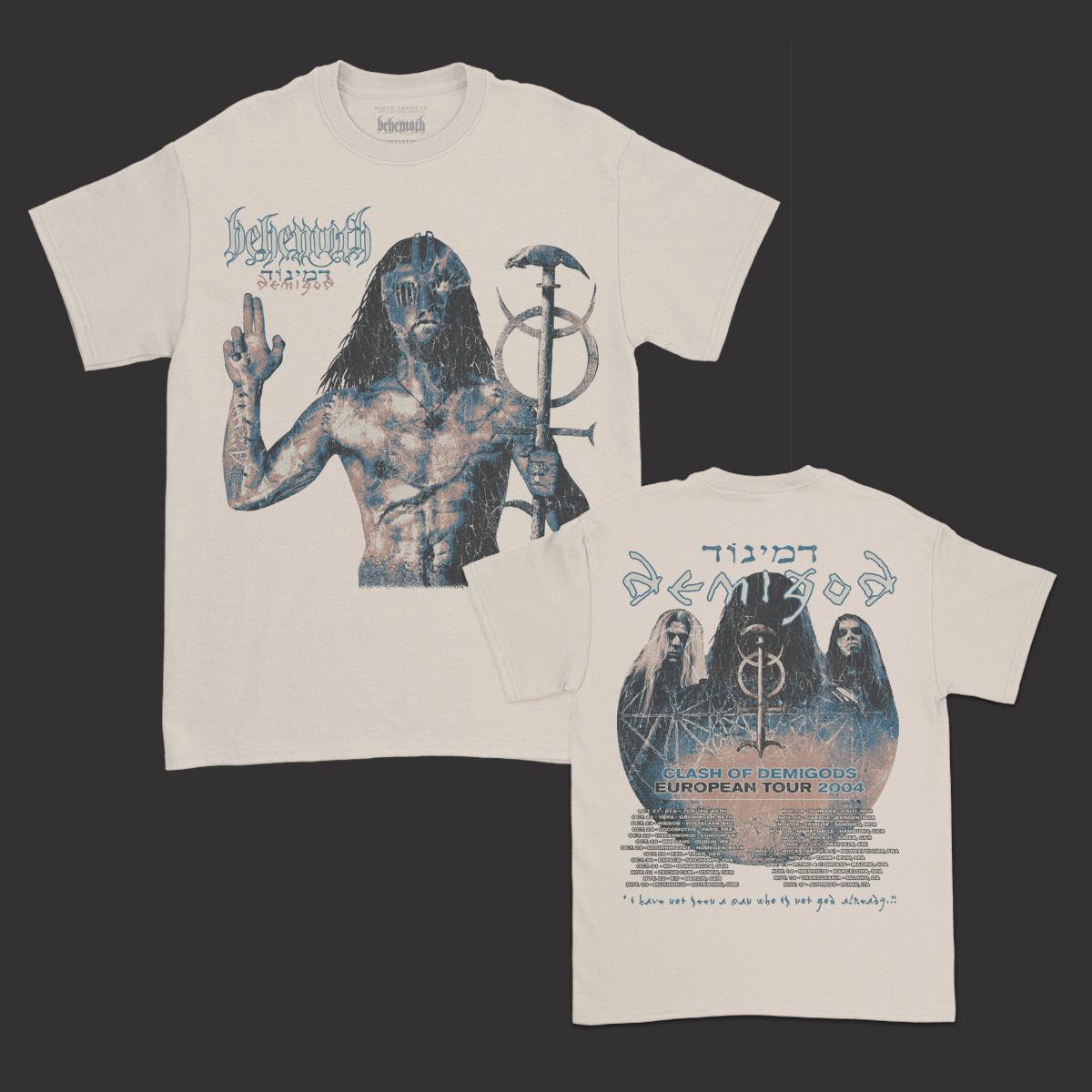 IMAGE | Demigods European Tour T-Shirt (Sand)