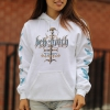 IMAGE   Demigod Pullover Sweatshirt (White) - detail 2