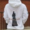 IMAGE   Demigod Pullover Sweatshirt (White) - detail 3