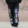 IMAGE | Seven Seals Sweatpants (Black) - detail 2