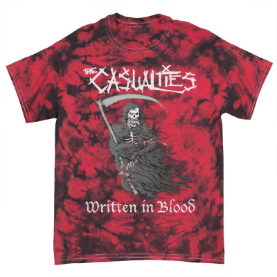 IMAGE | Written in Blood Tee (Red Crystal Dye)