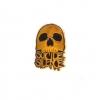 IMAGE | Skull Logo Enamel Pin - detail 2