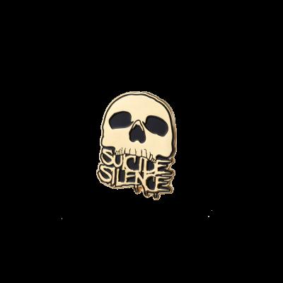 IMAGE | Skull Logo Enamel Pin