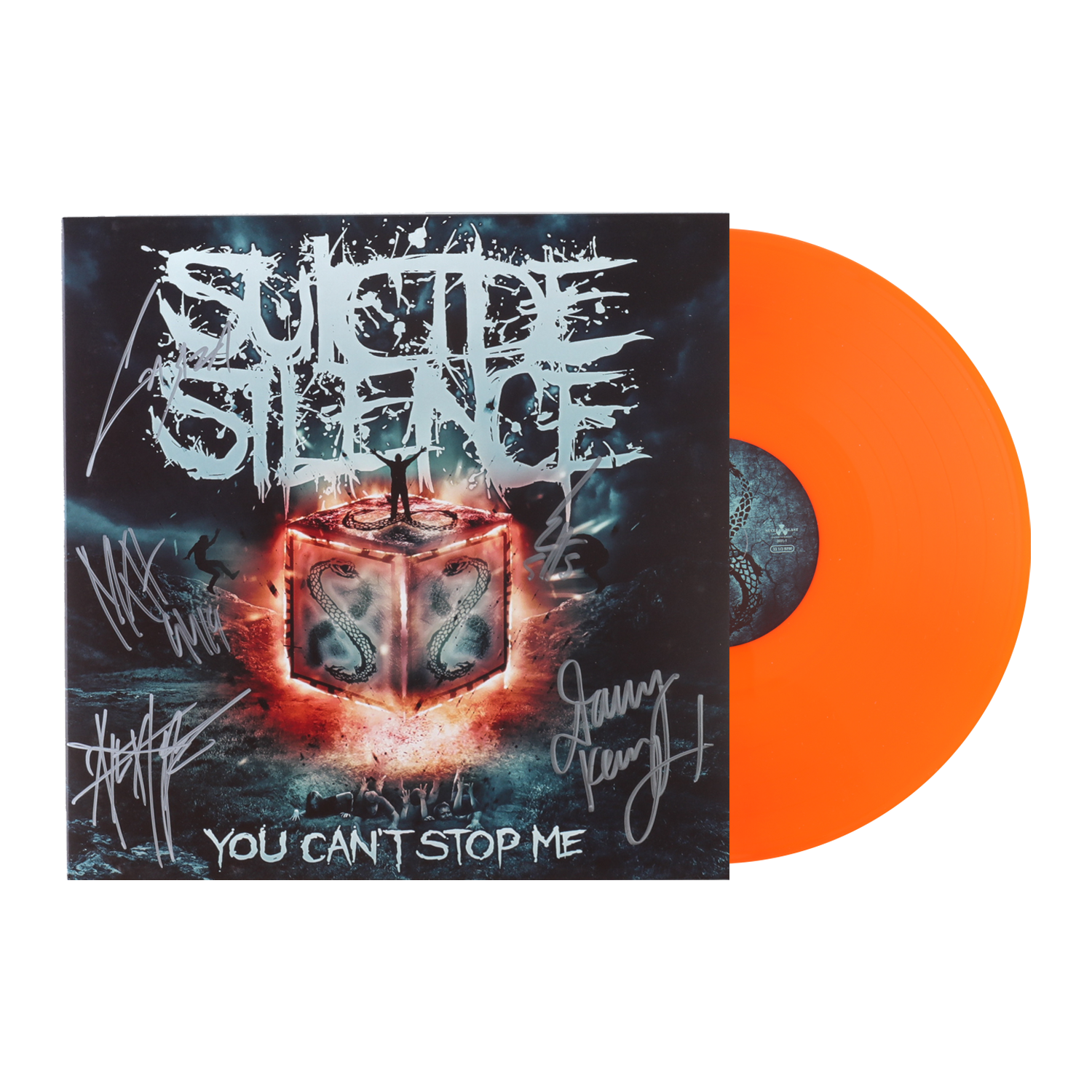 IMAGE | You Can't Stop Me SIGNED LP (Orange)