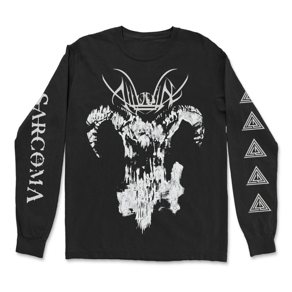 IMAGE   Goat Skull Long Sleeve (Black)