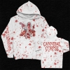 IMAGE   Violence Unimagined Pullover (White/Blood Spray Dy - detail 1