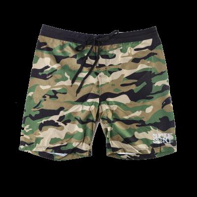 IMAGE | Logo Board Shorts (Camo)