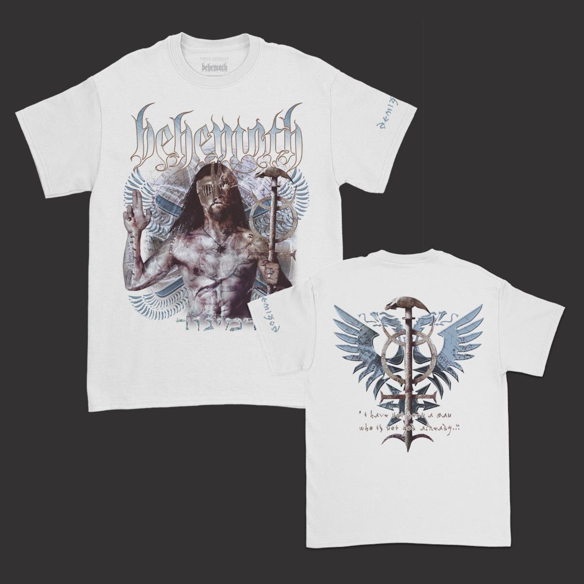 IMAGE   Demigod Album T-Shirt (White)